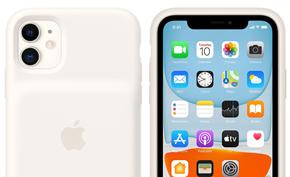 苹果推出iPhone 11系列智能电池壳 支持Qi无线/PD快充可延长50%续航