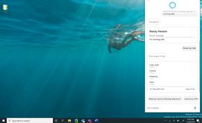 微软发布新版Windows 10小娜聚焦生产力 诸如笑话等功能已被暂时移除