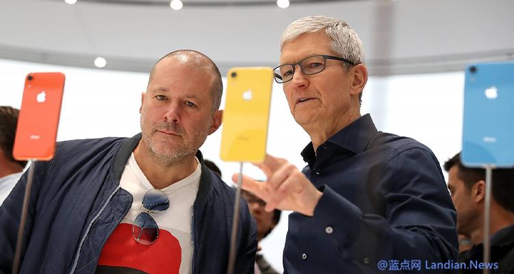 苹果前首席设计师Jony Ive正式离职 苹果官网领导页面已经删除其信息