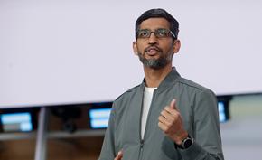 桑德尔•皮查伊成为谷歌掌舵人 谷歌联合创始人拉里佩奇和谢尔盖布林辞职