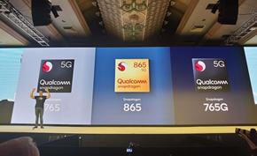 高通推出支持5G网络的骁龙865处理器 OPPO和小米将率先采用该处理器
