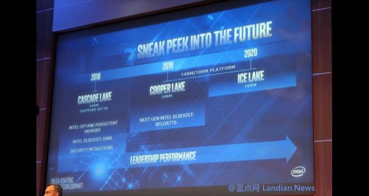 Intel否认服务器CPU延期:10nm Ice Lake至强2020下半年推出