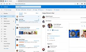 微软宣布将为网页版的Outlook邮箱服务增加SMTP邮件代发(别名)功能
