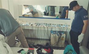 数名国人躲在泰国低价订购SIM卡注册虚假微信账号出售给诈骗团伙被捕