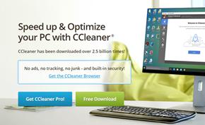 知名清理工具Piriform CCleaner已被某克丁代理并上线所谓的中文官网