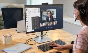 惠普在CES 2020上推出具有弹出式摄像头和可以远程操作的扩展坞显示器