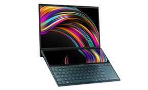 华硕推出更轻、更薄的双屏笔记本ZenBook Duo 搭载十代英特尔i7处理器