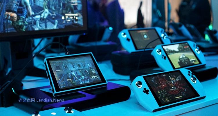戴尔外星人带来了一款可以称翻版Switch的概念PC游戏掌机 又厚又沉又大