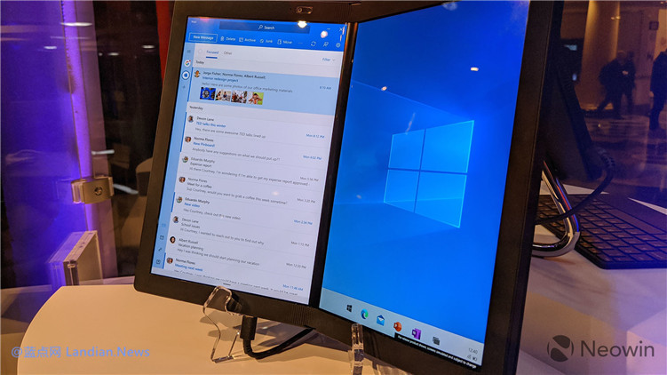 [多图] Windows 10X版在可折叠电脑上的实际体验是什么样子的?