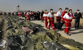 伊朗官方证实乌克兰航班坠毁事件是由于伊朗军方错误发射导弹击落的