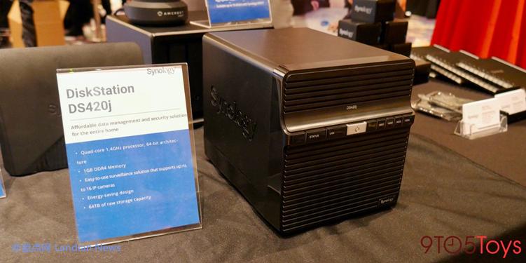 群晖推出新的入门级NAS服务器DS420J 四盘位最高支持64TB存储空间