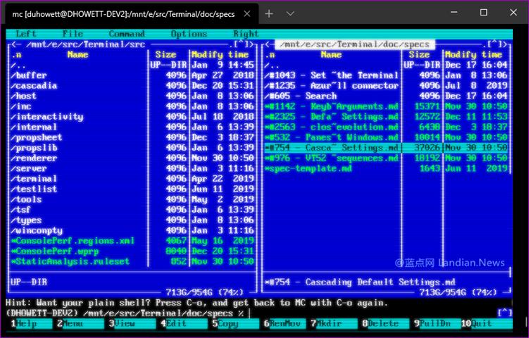微软将很快为Windows Terminal终端应用提供字符搜索功能和CRT效果