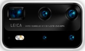 华为P40 Pro第三方渲染图曝光 采用矩形五摄并且依旧搭载徕卡制造的镜头