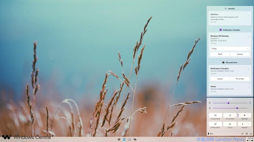Windows 10X版将支持动态壁纸功能可按时间自动切换样式风格