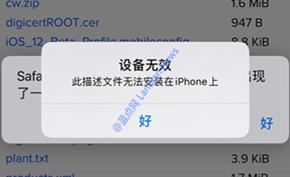 利用tvOS Beta描述文件屏蔽iOS 12/13系统升级已经失效
