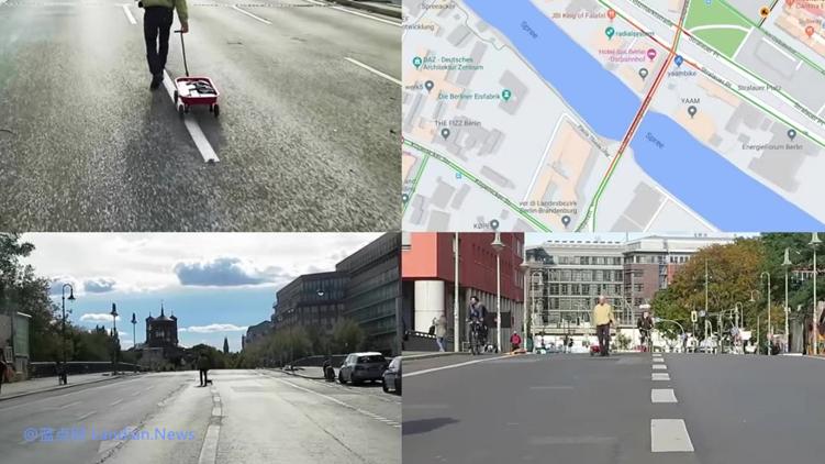 行为艺术家通过99部智能手机成功扰乱谷歌地图并造成道路拥堵假象