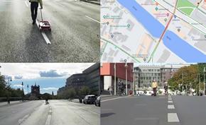 行为艺术家通过99部智能手机成功扰乱谷歌地图并造成道路拥堵的假象