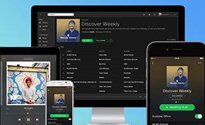 尽管Spotify面临着Apple Music和Amazon Music的激烈竞争 月活量依旧增长了