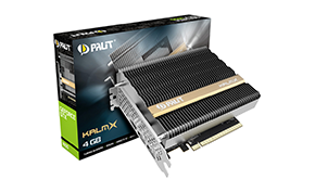 Palit推出被动散热的无风扇版GeForce GTX 1650 KalmX 不需要独立供电