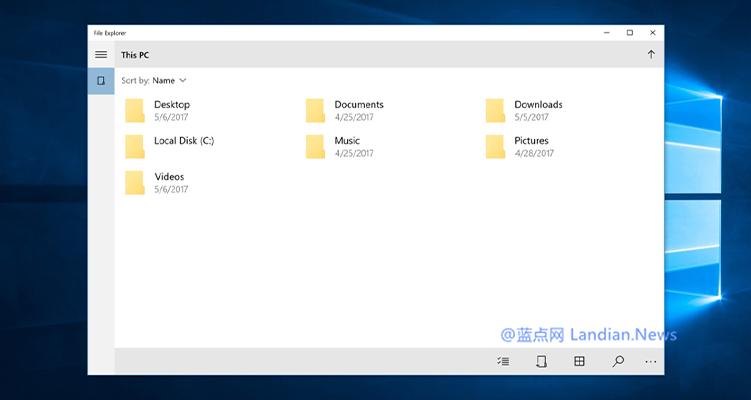 微软或许会在Windows 10 X中将Win32版文件管理器替换为UWP版