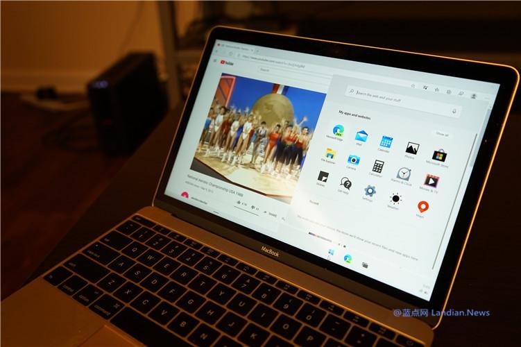 开发者成功在苹果MacBook设备上通过模拟器正常运行Windows 10X版
