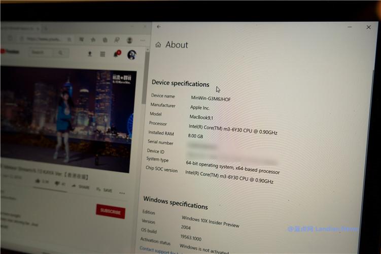 [多图]开发者成功在苹果MacBook上通过模拟器正常运行Windows 10X版
