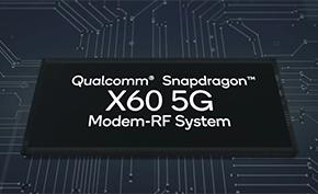 高通宣布推出全球首款支持7.5Gbps下载速率的5nm第三代基带X60