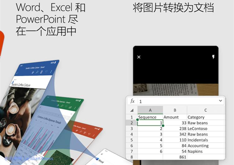 多合一版本的全新Microsoft Office移动版现已面向安卓和iOS用户推出