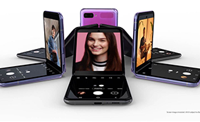 主打女性市场的三星折叠屏手机Galaxy Z Flip宣布目前线上库存已经售罄