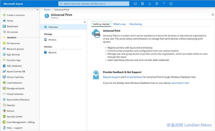 微软宣布为企业和组织推出Universal Print云端打印解决方案简化配置问题