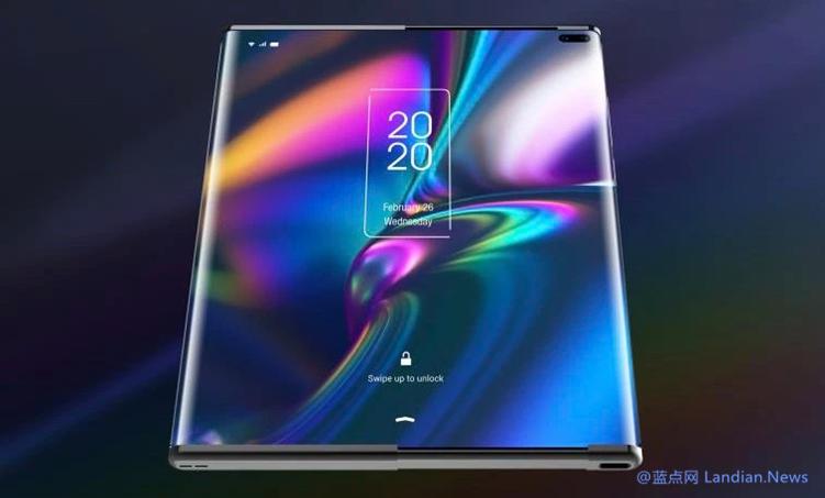 [视频] TCL展示令人惊叹的柔性屏概念机 屏幕可从背板里抽出或者卷回去