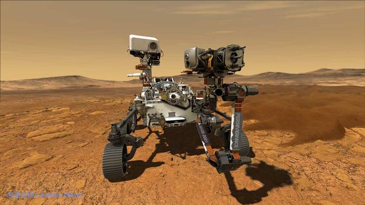NASA将在明年发射的新火星车定名毅力号 名称来自美国13岁的初中生