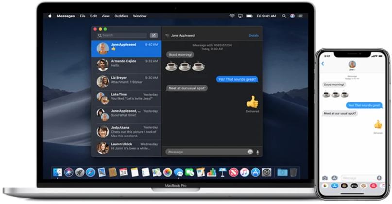 苹果正在内部测试iMessage信息新功能 支持@联系人以及撤回消息等