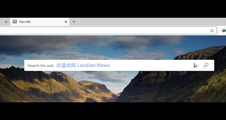 Microsoft Edge Canary版现已提供修改「新建标签页」的搜索引擎的功能