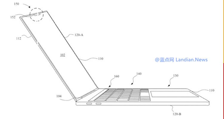 苹果最新专利疑似暗示会将刘海设计和Face ID带到了MacBook产品线中