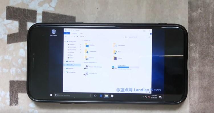 现在你可以在iPhone X(免越狱)上通过虚拟机运行Windows 10桌面版