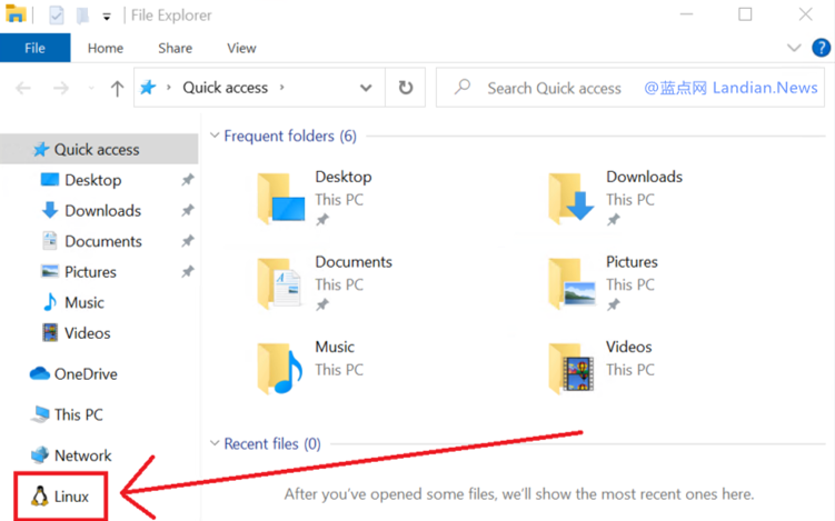 Windows 10 vNEXT Build 19603版发布 WSL现在已经集成到资源管理器-第1张
