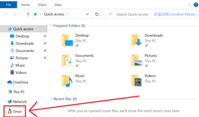 Windows 10 vNEXT Build 19603版发布 WSL现在已经集成到资源管理器