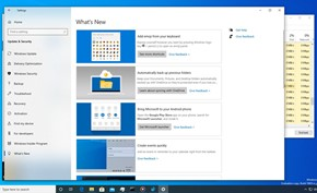 微软准备在Windows 10里添加新增功能日志 让用户可以快速了解新功能