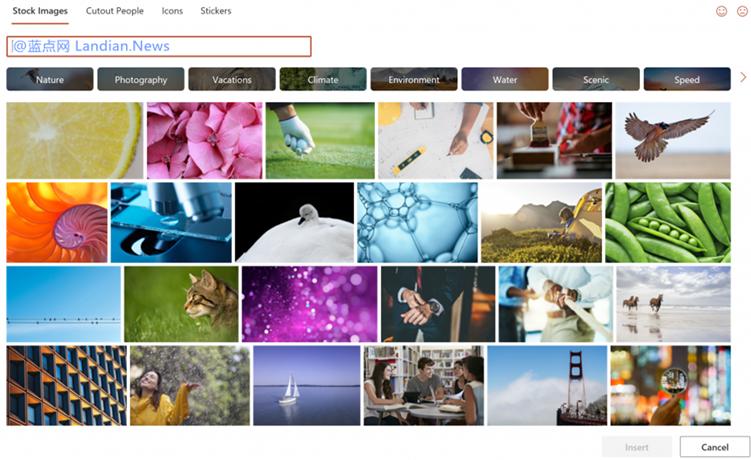 微软为Office 365用户带来8000套免费图片 支持免费商用无需版权费