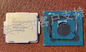 开盖王师傅之后还有拆CPU核心骗保的 为此英特尔发布官方声明