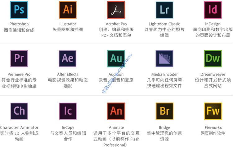 大连理工大学已采购Adobe全家桶正版授权服务供全校师生免费使用