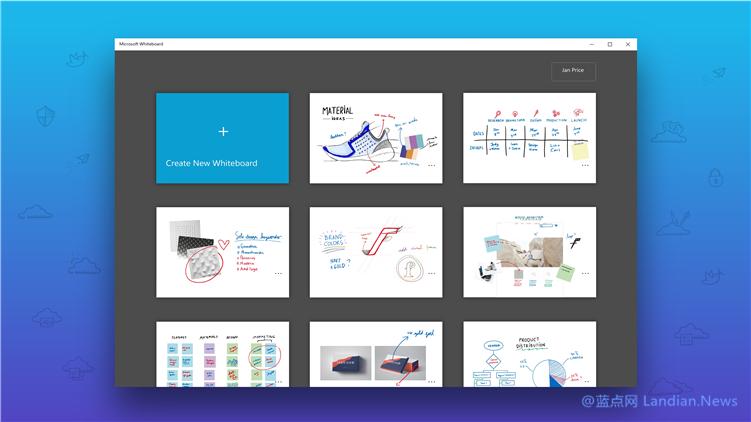 微软更新iOS版白板应用(Whiteboard) 新增支持超链接和链接预览图块