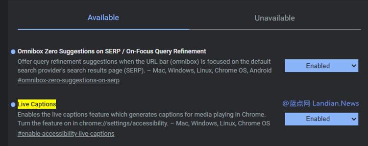 PC版谷歌浏览器终于带来实时字幕功能的支持 不过仅支持英语类视频