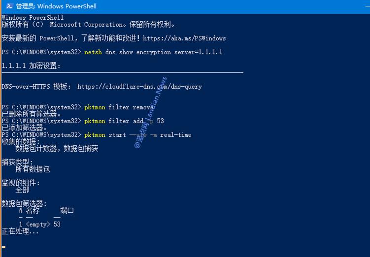 [教程] 通过注册表开启Windows 10 DoH功能加密DNS查询提高隐私安全-第3张