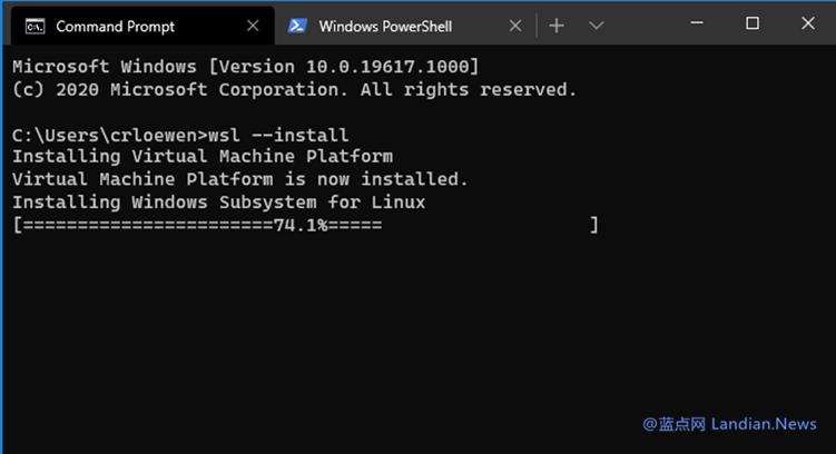 现在你可以直接在Windows 10平台上运行带用户界面的Linux桌面软件