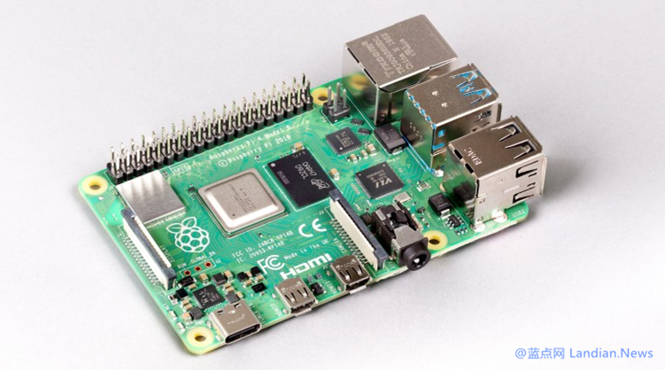 树莓派官方为树莓派Pi4推出具有8GB内存的新版本 官方零售价为75美元