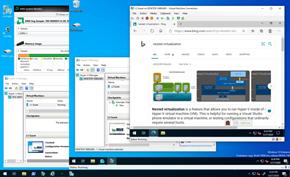 微软隆重宣布Windows 10系统现已支持在AMD平台启用嵌套虚拟化技术