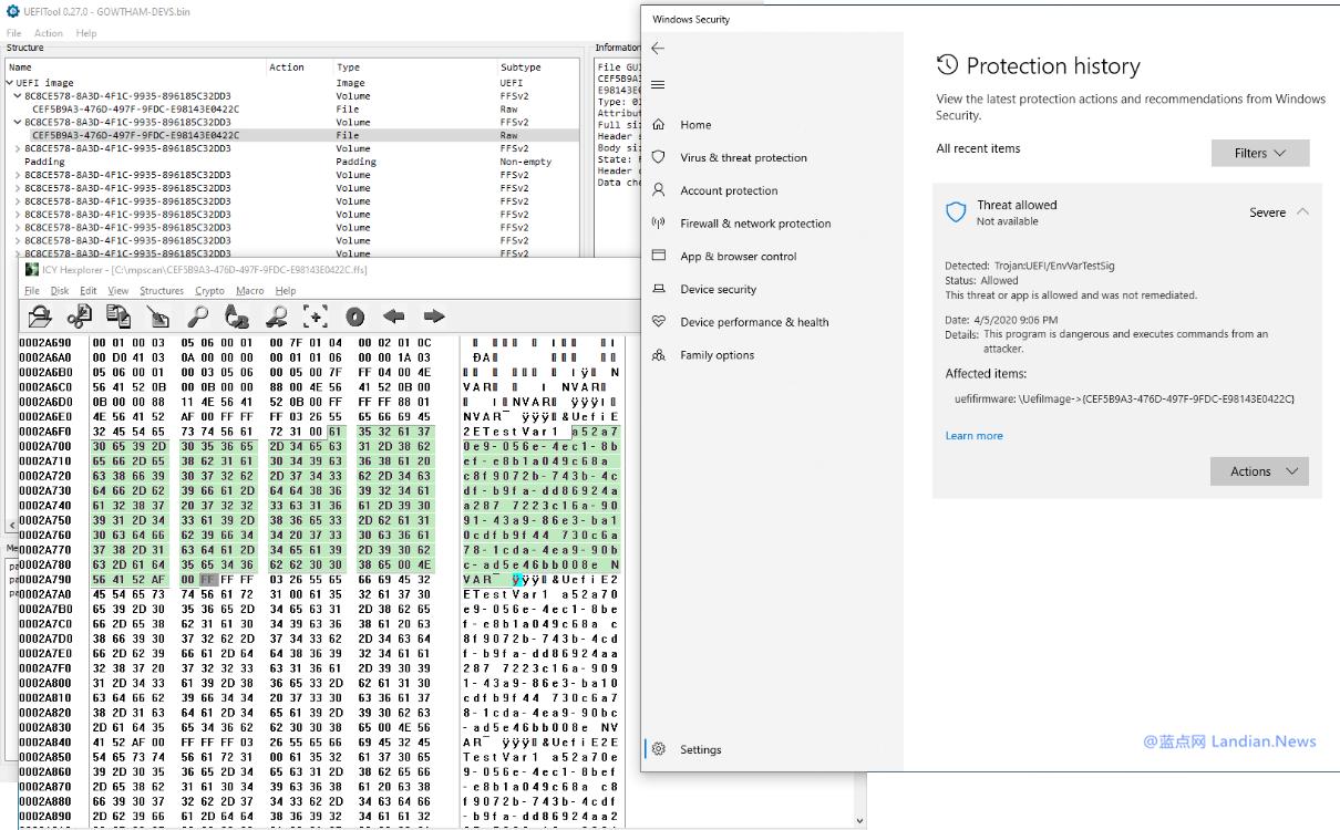 微软更新Microsoft Defender防病毒软件 现已支持查杀UEFI核心的顽固病毒