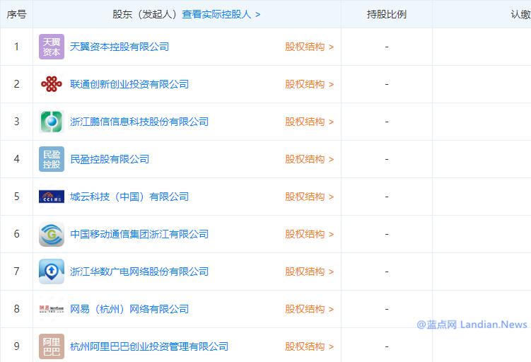 阿里/网易/移动/联通/电信等联合在浙江成立新型互联网交换中心有限公司